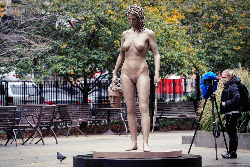 近年還有另一個性別反轉的神話改寫例子,是一名雕塑家加巴蒂(Luciano Gar...