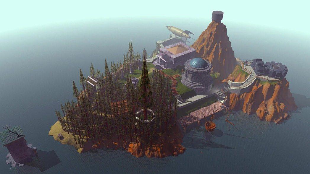 迷霧之島的舞台真的是在一個充滿神祕裝置的島嶼上。