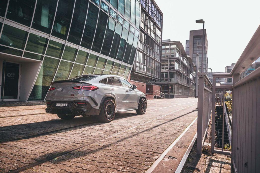 以Mercedes-AMG GLE 63 S Coupe為打造基礎,Brabus...