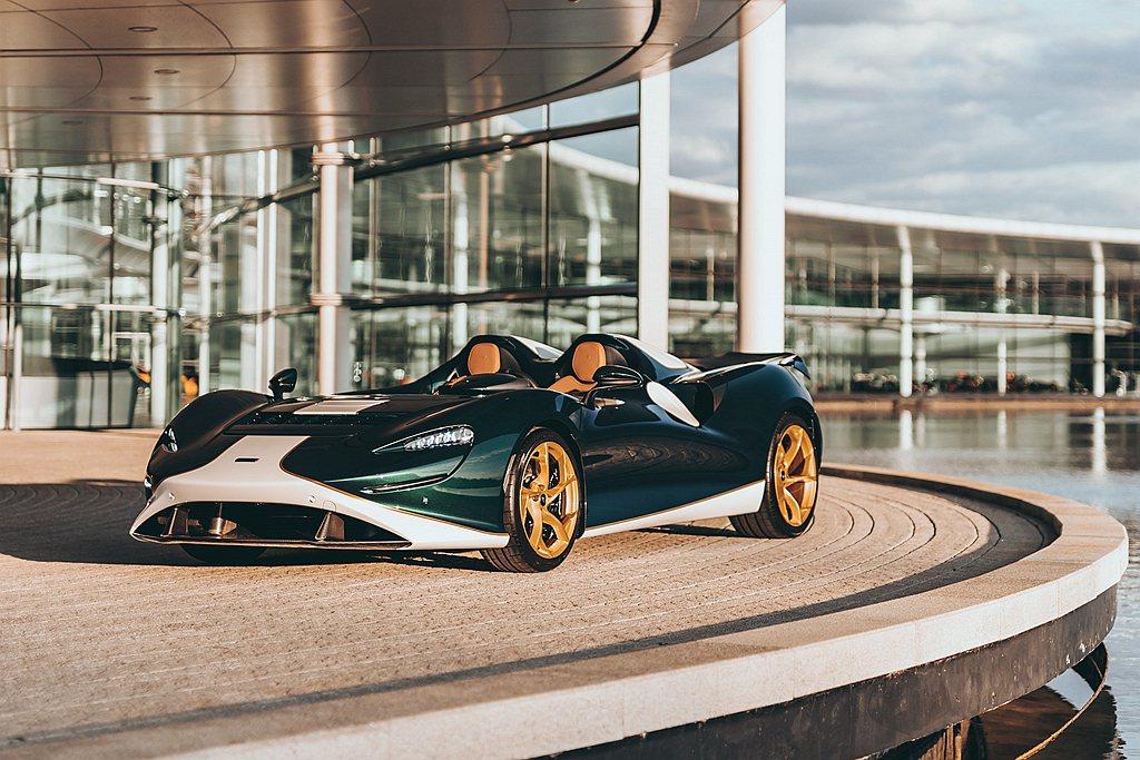 McLaren Elva以致敬過去馳騁賽場的經典賽車Elva之名,結合品牌著名空...