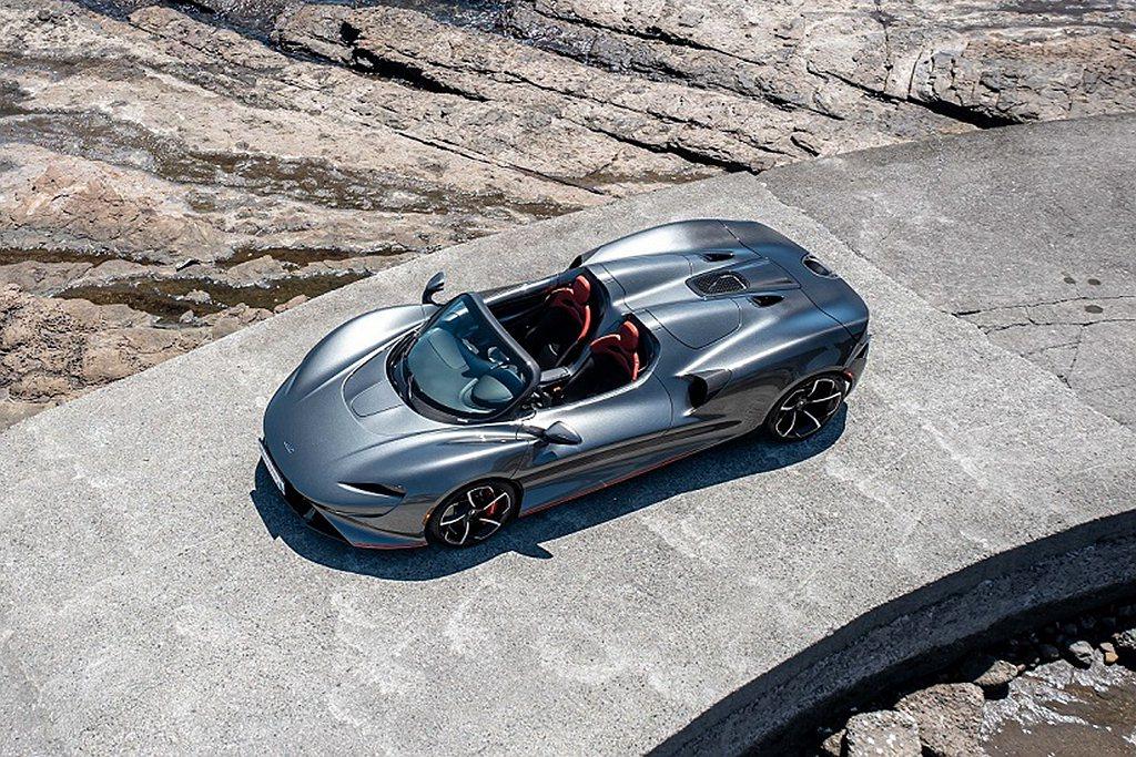 McLaren Elva全球限量生產149台,即日起至9月26日於McLaren...