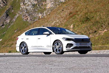 疑似是電動版Passat測試車曝光 Volkswagen ID家族的首款純電房車?