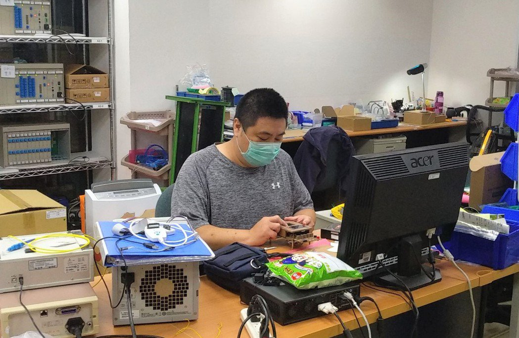彭帟絃很感謝職訓課程,幫助他找到理想中的工作。 高屏澎東分署/提供。