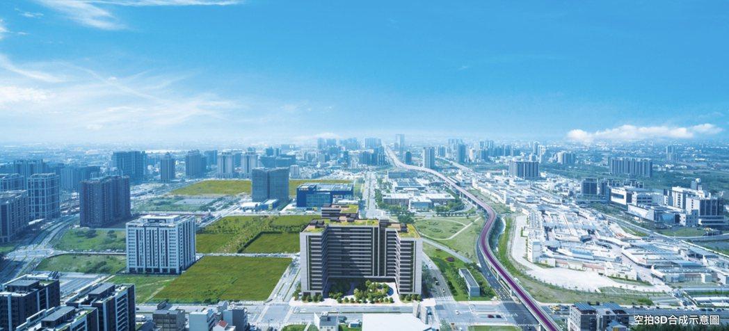 「潤隆國家大院」只要500米距離即可到高鐵站、商城、學區及三萬坪公園。 業者/提...