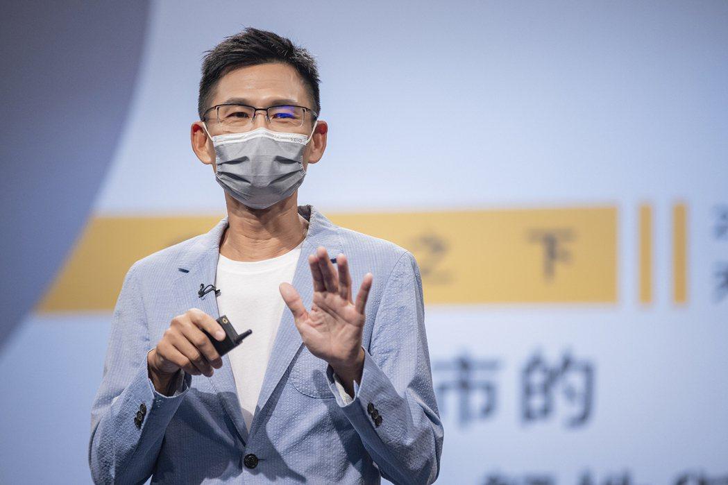 大安森林公園之友基金會副執行長陳鴻楷。 天下/提供