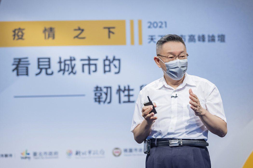 台北市長柯文哲。 天下/提供