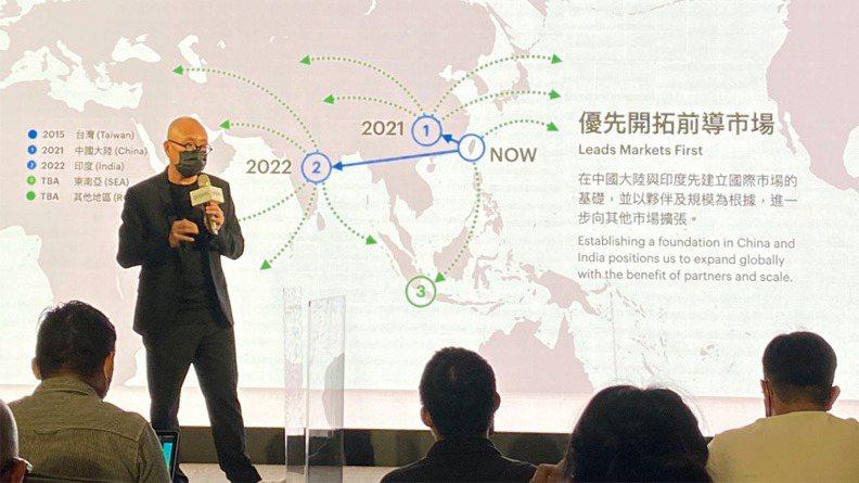 Gogoro創辦人陸學森16日現身宣布赴美上市。圖/遠見提供,林鳳琪攝
