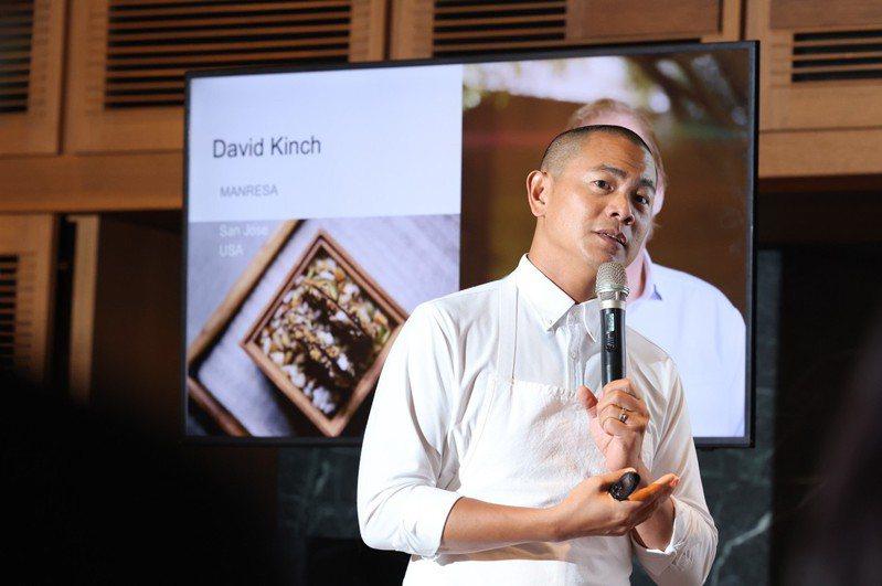 RAW主廚江振誠推出新菜單「World Tour III」,暖心號召世界各地的大廚好友們共襄盛舉。記者王聰賢/攝影。