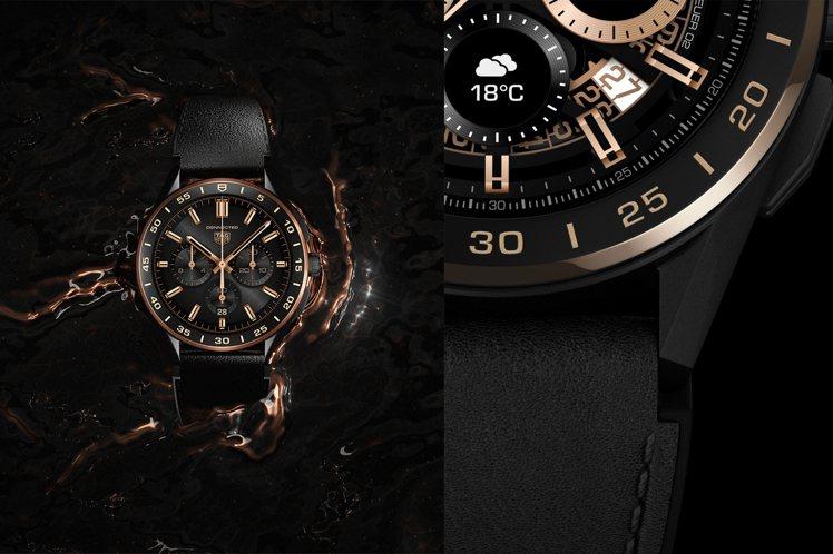 泰格豪雅端出特別版Connected Bright Black頂級智能腕表,來區...