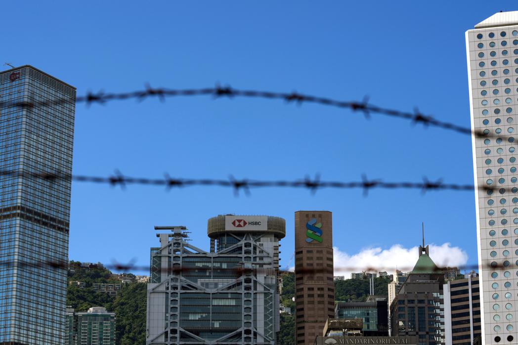 大陸外交部公布「美國干預香港事務、支援反中亂港勢力事實清單」。美聯社