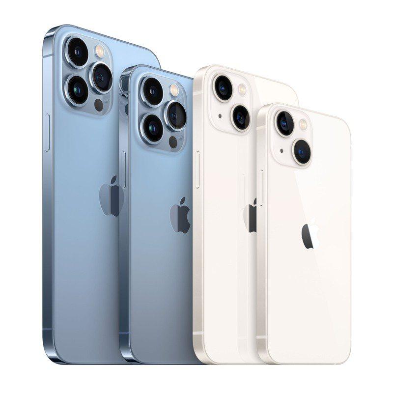 遠傳friDay購物開放iPhone 13系列預購以來,選購iPhone 13 Pro、iPhone 13 Pro Max者超過7成,其次為iPhone 13。圖/遠傳friDay購物提供