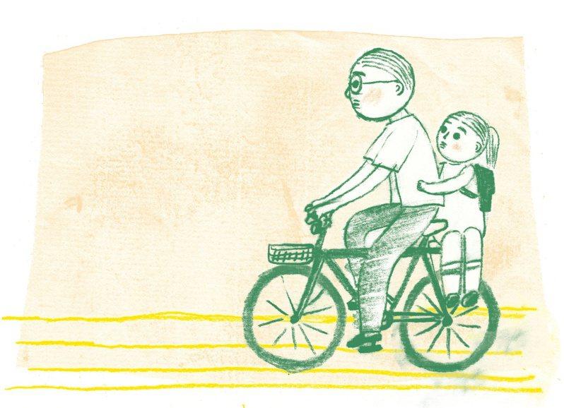 父親的腳踏車。圖/紅林