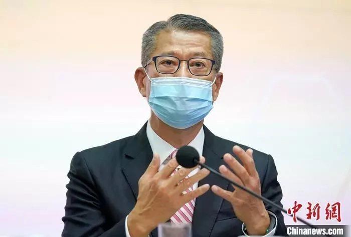香港財政司司長陳茂波。(取自中新網)