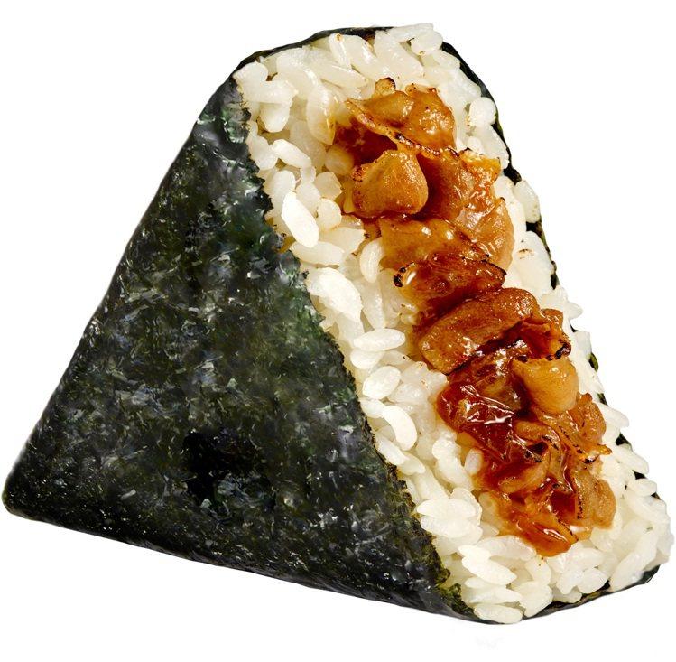 「胡同-燒肉三角飯糰」,售價35元。圖/OKmart提供