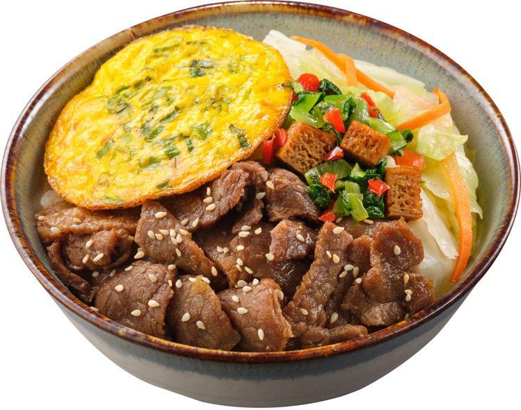 「胡同-燒牛肉丼」,售價89元。圖/OKmart提供