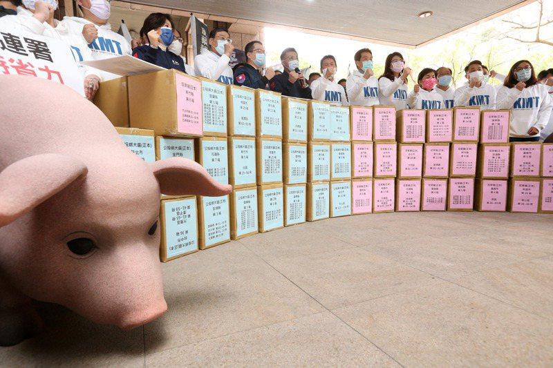 萊豬進口爭議將近一年,「反萊豬公投」則一直是民意最支持的公投案。 圖/聯合報系資料照片
