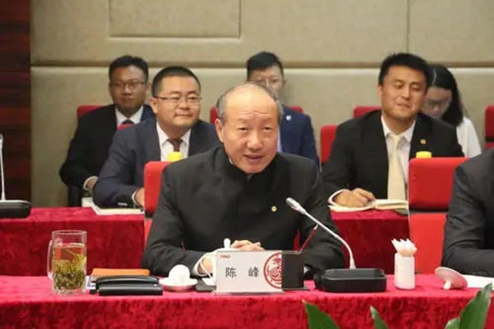 海航集團董事長陳峰。搜狐財經