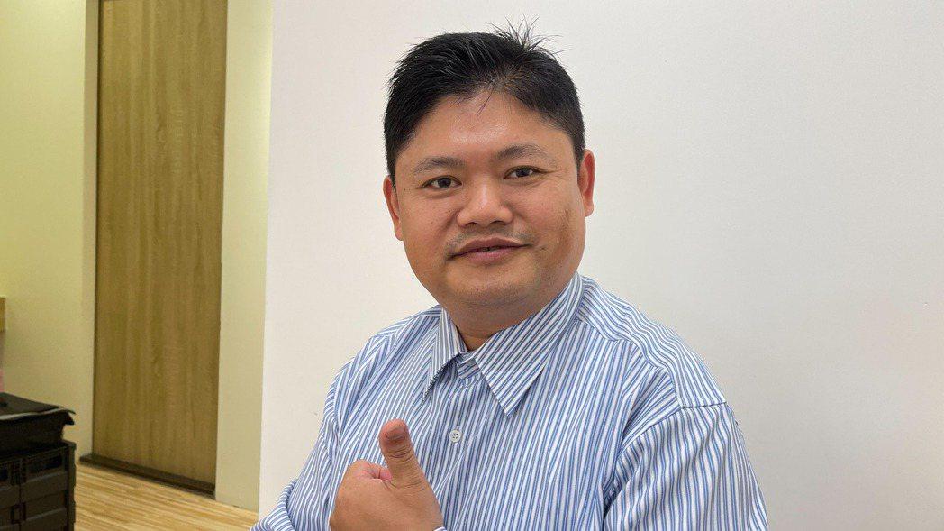 日成-KY台灣分公司總經理李文雄。記者陳昱翔/攝影