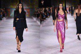 杜娃黎波化身「人間Versace」回歸本行!包辦開場、壓軸超有氣勢 轉身吐舌+眨眼超撩人