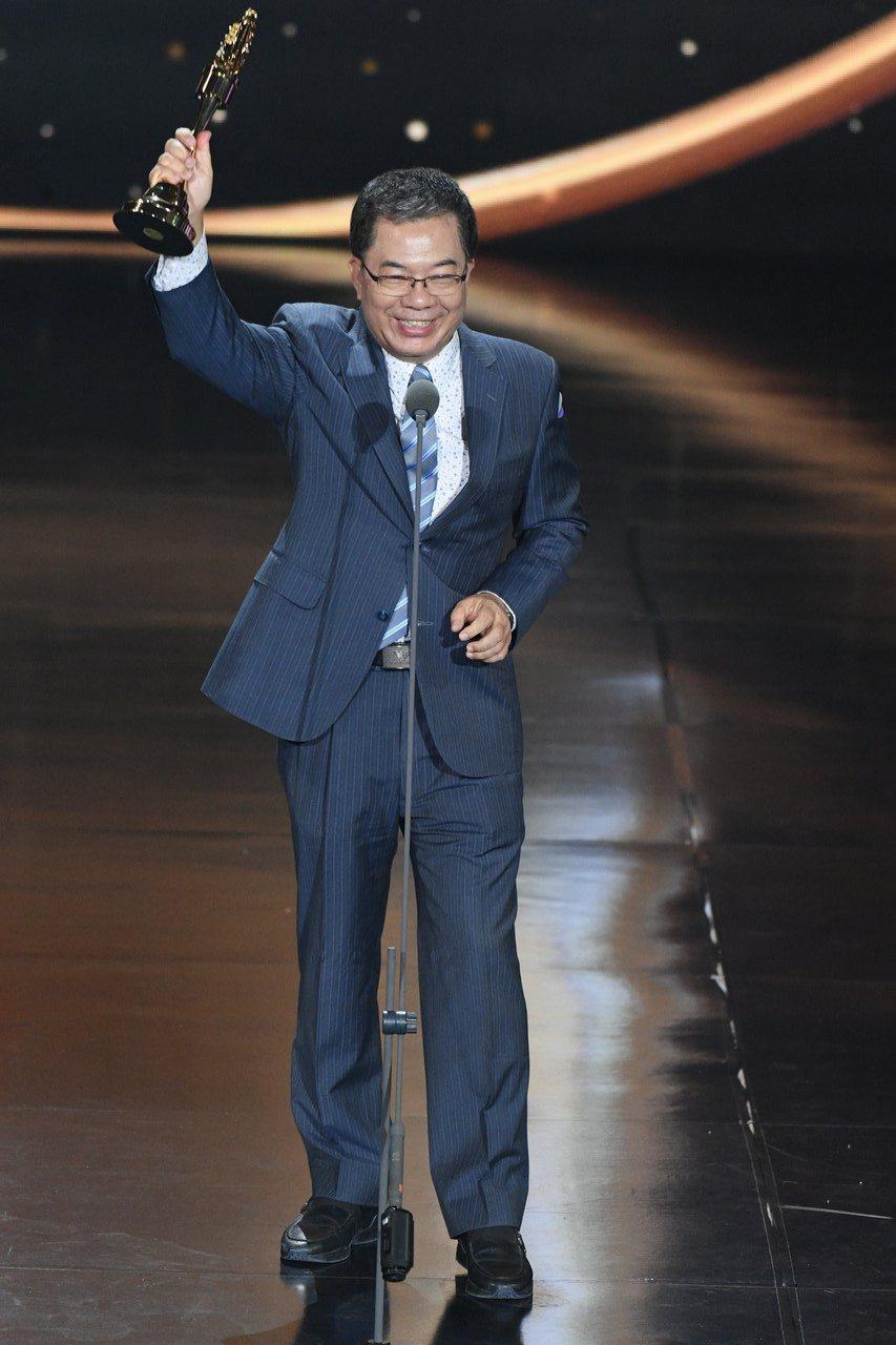 丁文祺榮獲本屆特別貢獻獎。圖/三立電視提供