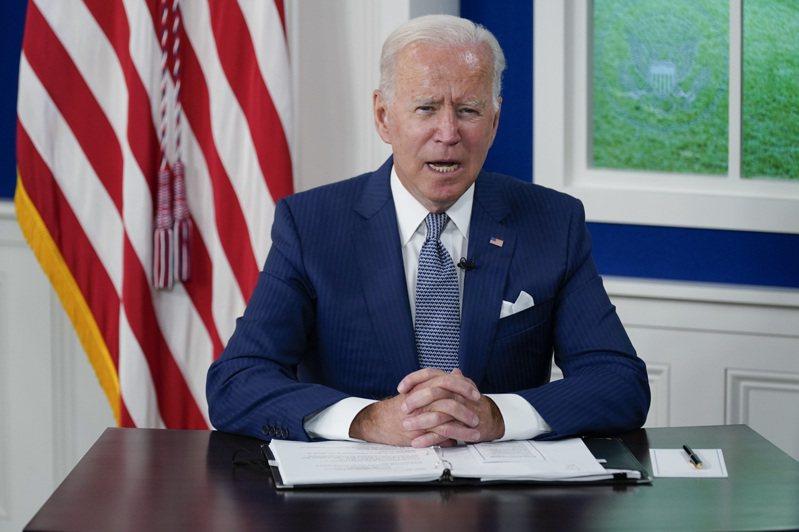 美國總統拜登。 美聯社