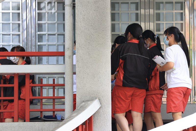 圖為國中學生示意圖。圖/聯合報系資料照片