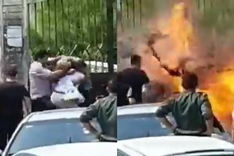 敘利亞塔爾圖斯(Tartous)街頭23日發生一起爆炸案,3名男子在地方法院外起衝突且大打出手,一旁還有群眾圍觀,未料其中一人攜有手榴彈,在爭執中意外引爆,造成3死11傷慘劇。截自推特