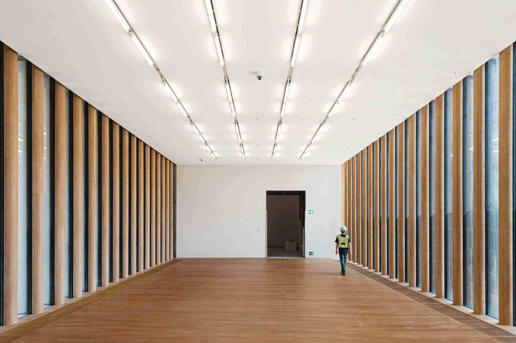 M+ 南展廳擁有超大展覽空間。圖/Herzog _ de Meuron提供