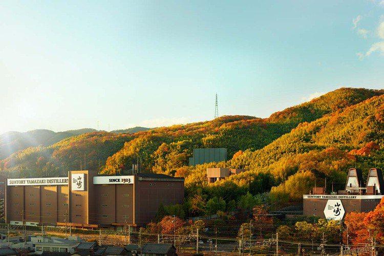 山崎蒸餾廠風景。圖/台灣三得利提供。提醒您:禁止酒駕 飲酒過量有礙健康。