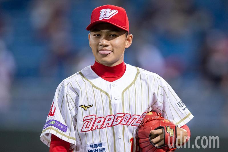 味全龍先發投手徐若熙主投6局失1分獲得單場MVP。記者季相儒/攝影