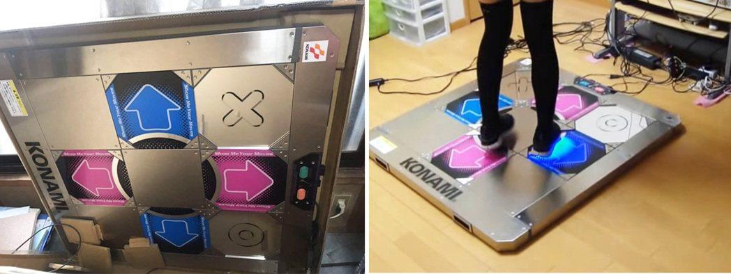 其實 KONAMI 當初還有推出一款幾乎 100% 仿大型電玩機台踏板的控制器,...