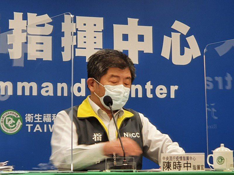 指揮中心下午2時舉行記者會,將由指揮官陳時中對外說明疫情和防疫作為。本報資料照片