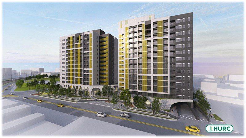 國家住都中心預計在正義籃球場改建380戶社會住宅「鶯陶安居」,工程預計明年動工,2025年完工。圖/國家住都中心提供