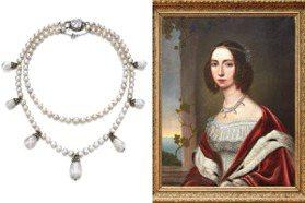拍賣歐洲皇家珠寶!拿破崙愛妻約瑟芬的天然珍珠項鍊