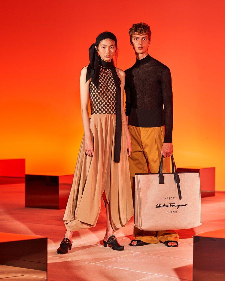 波西米亞風的穆勒鞋把品牌經典元素結合荷蘭木底鞋,穿出瀟灑隨性的復古氣息。圖/摘自...