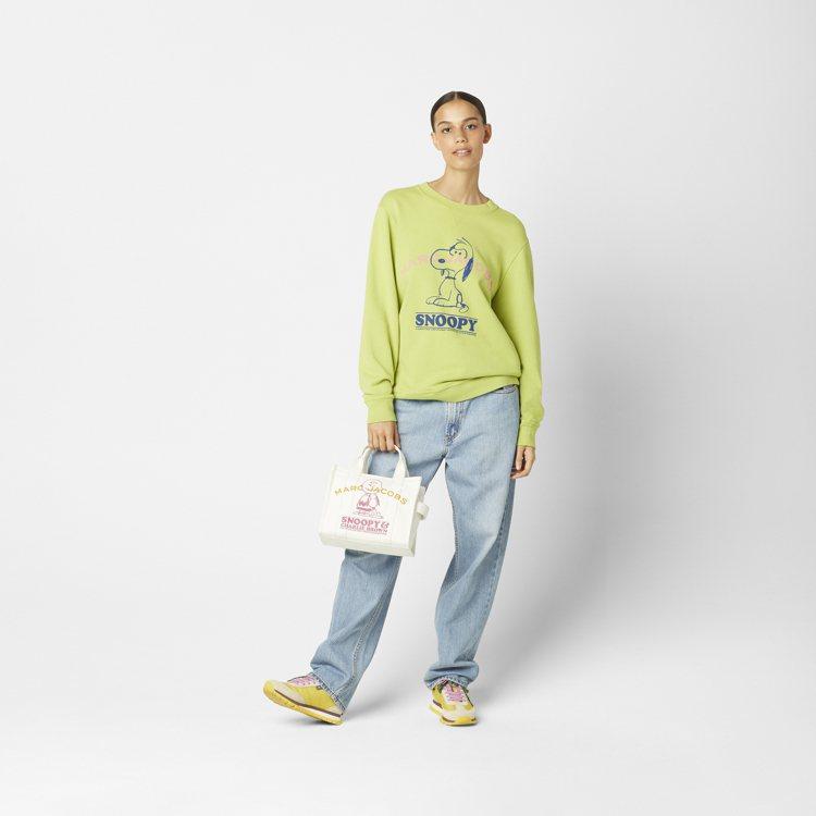 Marc Jacobs全新系列的The Peanuts商品登場,包含長短袖服裝、...