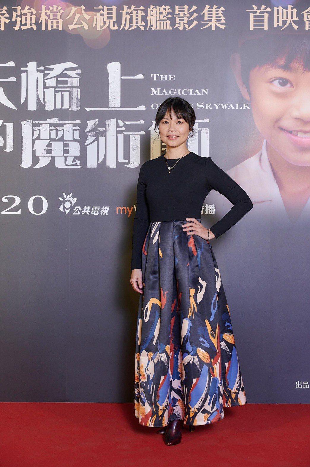 黃舒湄以「天橋上的魔術師」入圍金鐘女配角獎。圖/摘自臉書