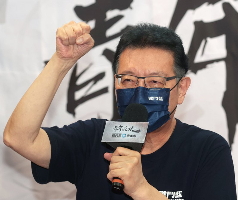 中廣董事長趙少康。本報資料照片