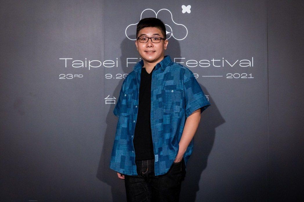 導演張騰元籌備電影「徘徊年代」10年。圖/台北電影節提供
