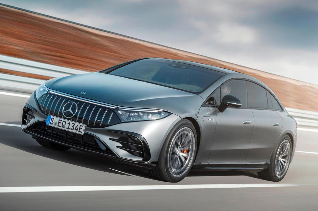 Mercedes-Benz EQS。 圖/Mercedes-Benz提供
