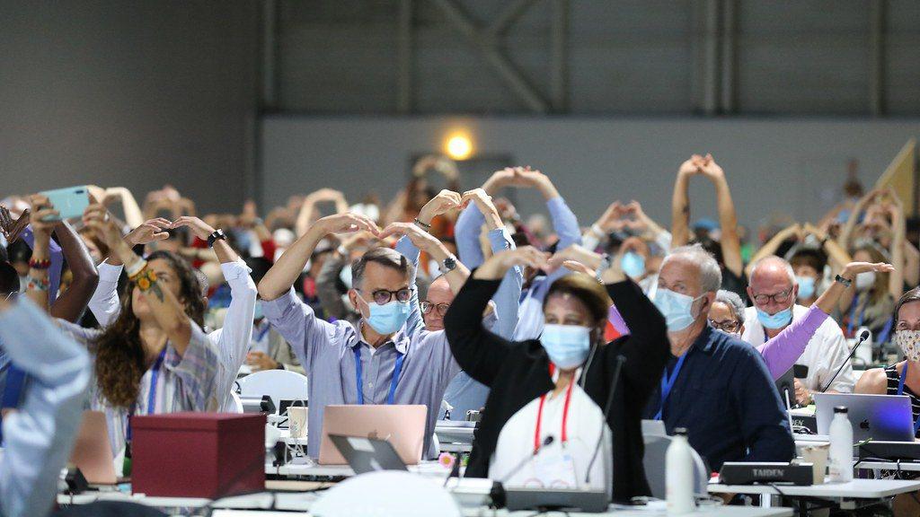 IUCN主辦的世界保育大會會場。 圖/國際可持續發展研究會(IISD)