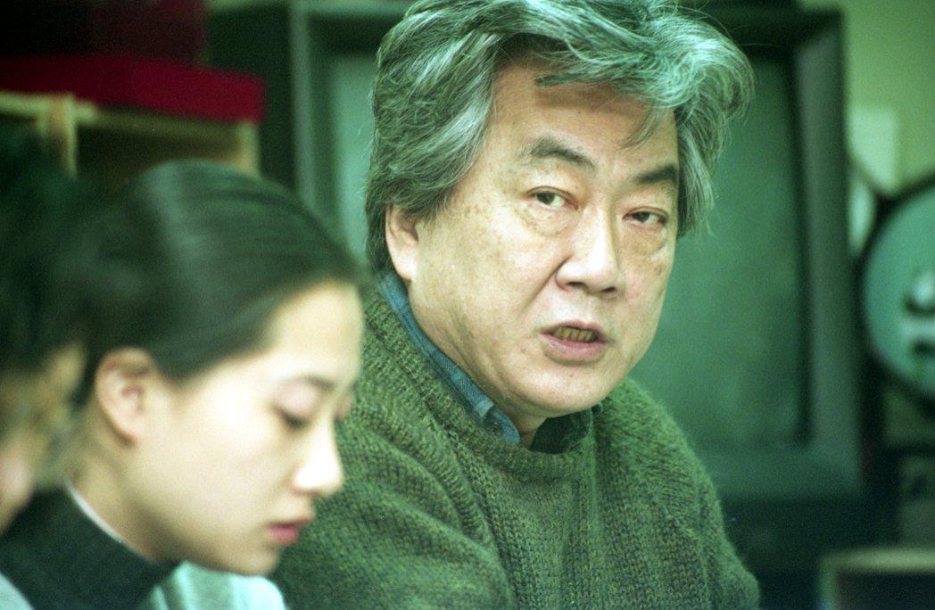 圖為陳映真參與「五〇年代白色恐怖處理委員會」記者會情形。 圖/聯合報系資料照