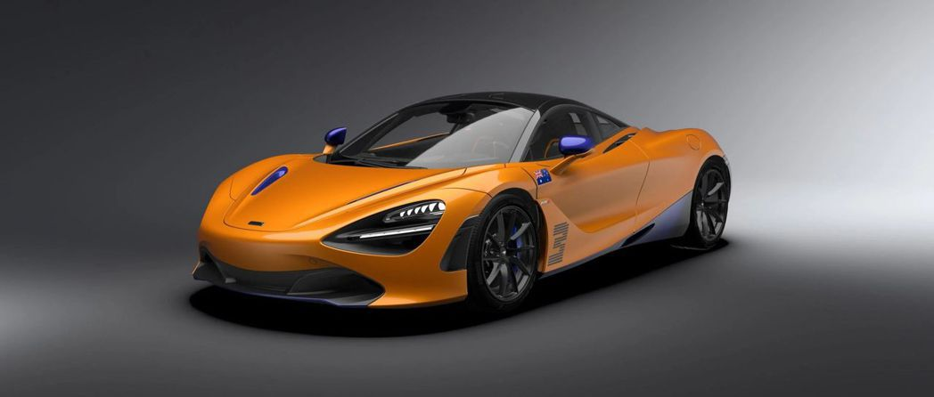 McLaren 720S Daniel Ricciardo Edition。 摘...