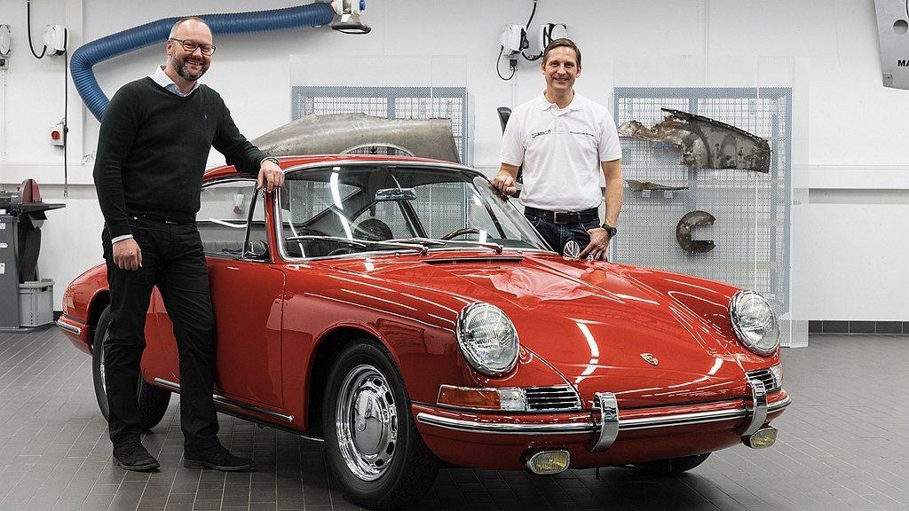 車輛管理及車輛歷史體驗部門負責人Alexander Klein、保時捷博物館工作...