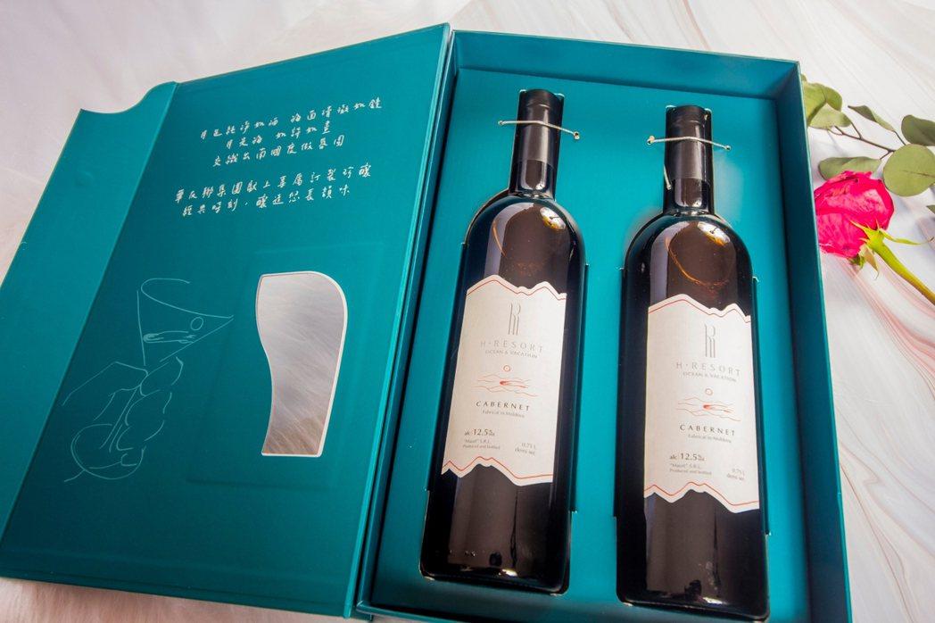 墾丁最愛地標飯店之一H會館,即將邁入開館10周年,特首次打造品牌紅酒禮盒,特由歐...