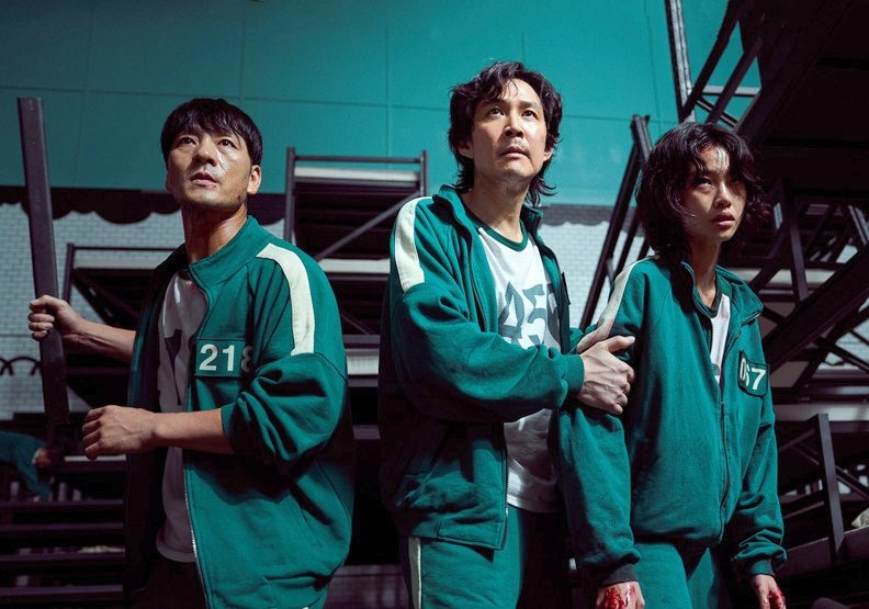 《魷魚遊戲》的當紅程度,創下了韓國影史許多紀錄。圖/Netflix