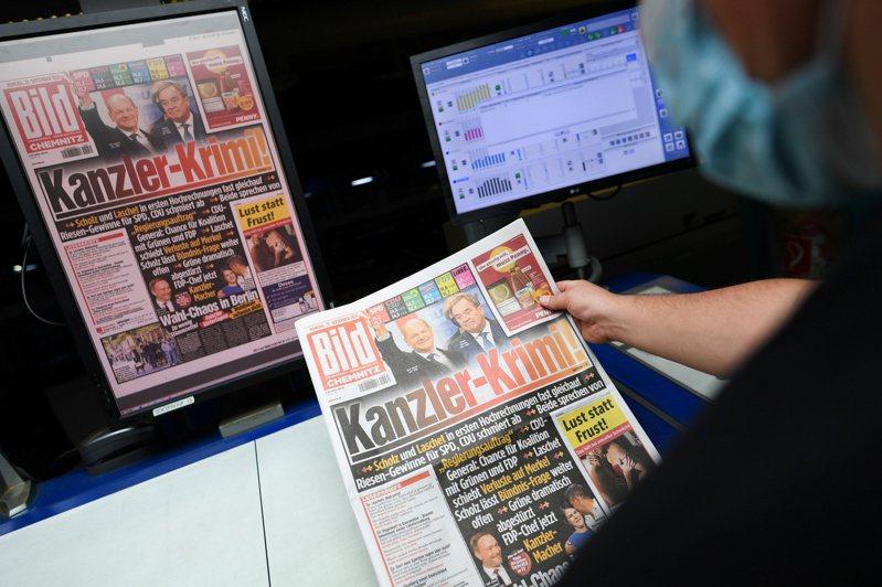 德國大選結果難分軒輊。 路透