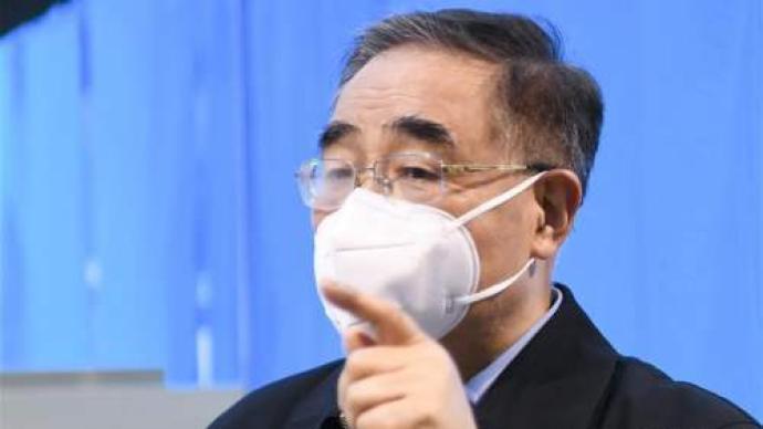中國工程院院士張伯禮。澎湃新聞
