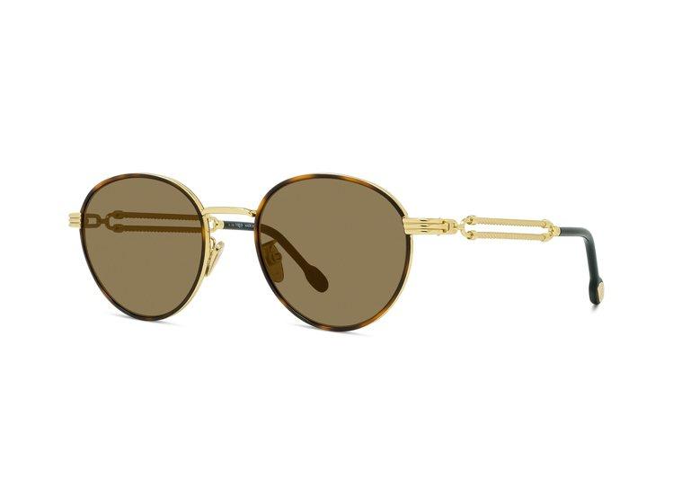 Force 10系列太陽眼鏡玳瑁金,30,250元。圖/斐登提供