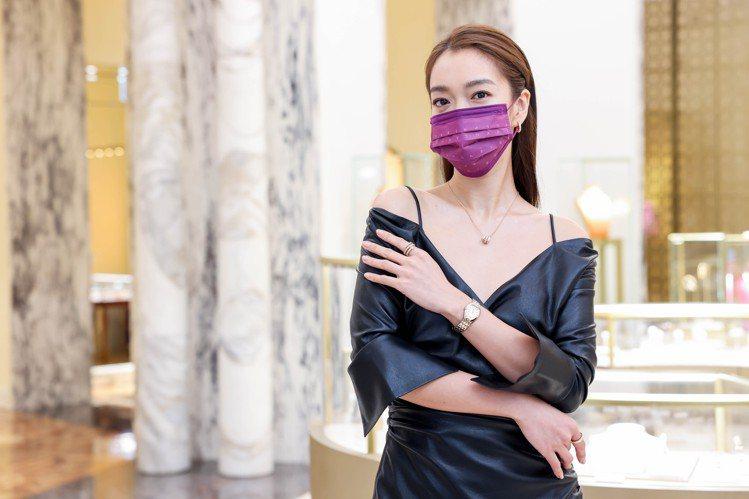 李霈瑜出席寶格麗2021年度腕表鑑賞會。記者吳致碩/攝影
